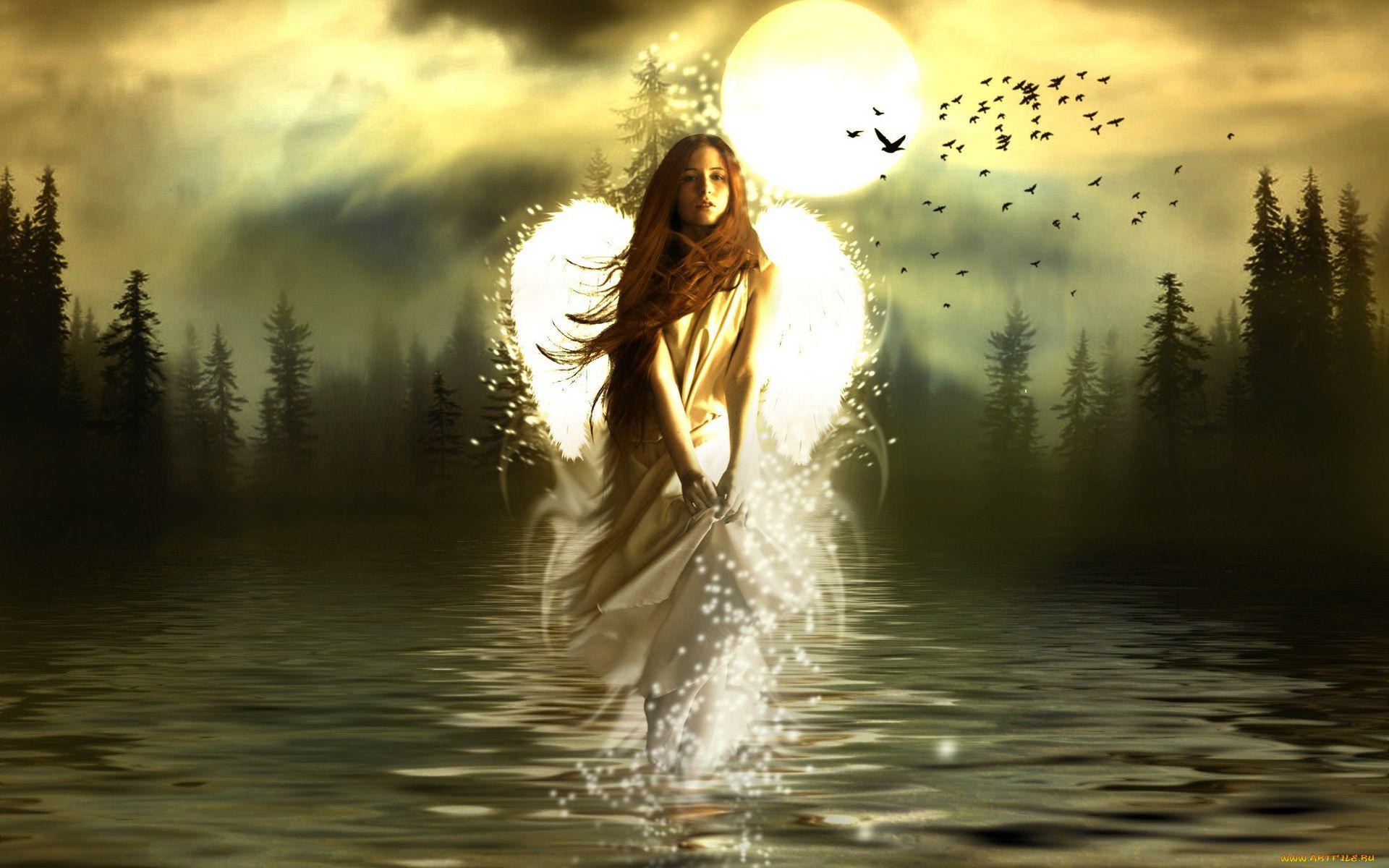 картинки ангелы и ведьмы что нас